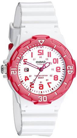 Casio Sports 3-Hand Analog White Dial Women's Watch #LRW200H