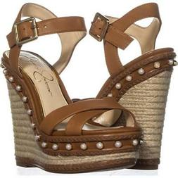 aeralin wedge slingback sandals 087 sun tan