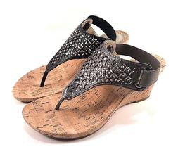 arnette thong wedge sandals choose sz color