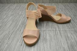 **LifeStride Blaze Wedge Sandal, Women's Size 8M, Blush NEW