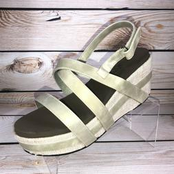 Boutique by Corkys Celine Sandals Wedge Gold Color Womens Si
