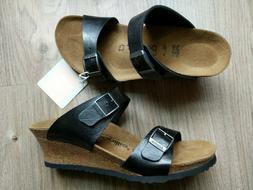 Papillio by Birkenstock Dorothy Wedge Sandal Licorice Black