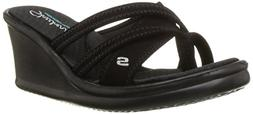 Skechers Cali Women's Rumblers - Young At Heart Wedge Sandal