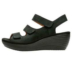 collection nubuck wedge sandals reedly juno black