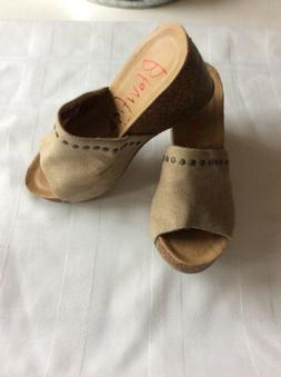 dt sand rancher canvas women s wedge