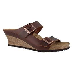 Birkenstock Women's Emina Cork Footbed Wedge Sandal-Narrow C