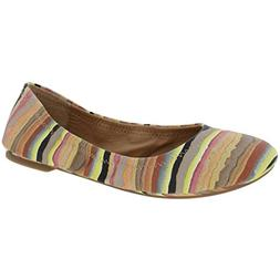 Lucky Brand Emmie Women US 7 Multi Color Flats