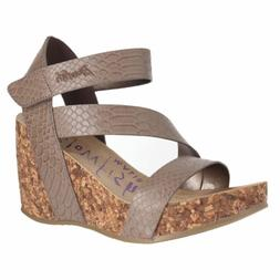 Blowfish Hapuku Mushroom Snake Charmer Womens Wedge Sandals