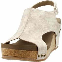 Corkys Ingrid  Casual   Sandals - Gold - Womens
