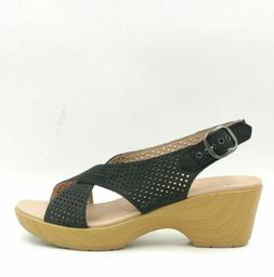 Dansko Jacinda Women Perforated Slingback Sandals Size US 8.