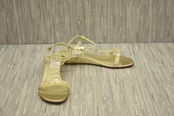 Touch Ups Jazz Women's Gold Sandals 12 W