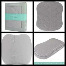 Jersey Cotton Quilted Waterproof Hourglass/Oval Bassinet She