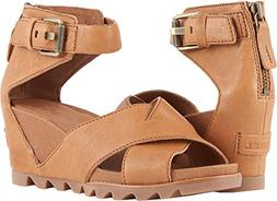SOREL Women's Joanie Sandal II Camel Brown 10 B US B