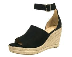 JOY City Classified Women's Espadrilles Ankle Strap Platform