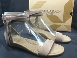 Koolaburra by Ugg Saige Fringe Wedge Sandals Women Size 7 An
