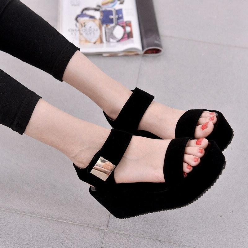 2018 New Shoes Women <font><b>Sandals</b></font> Shoes Woman Sandalias