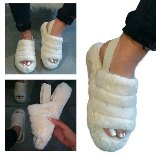 Slide With Elastic Slippers