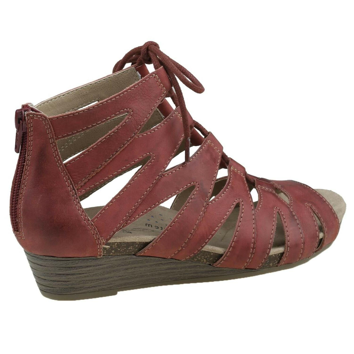 Earth Origins Sandals Leather Lace Women's