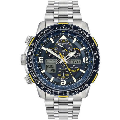 Citizen Eco-Drive JY8078-52L Blue Angels Skyhawk Chronograph