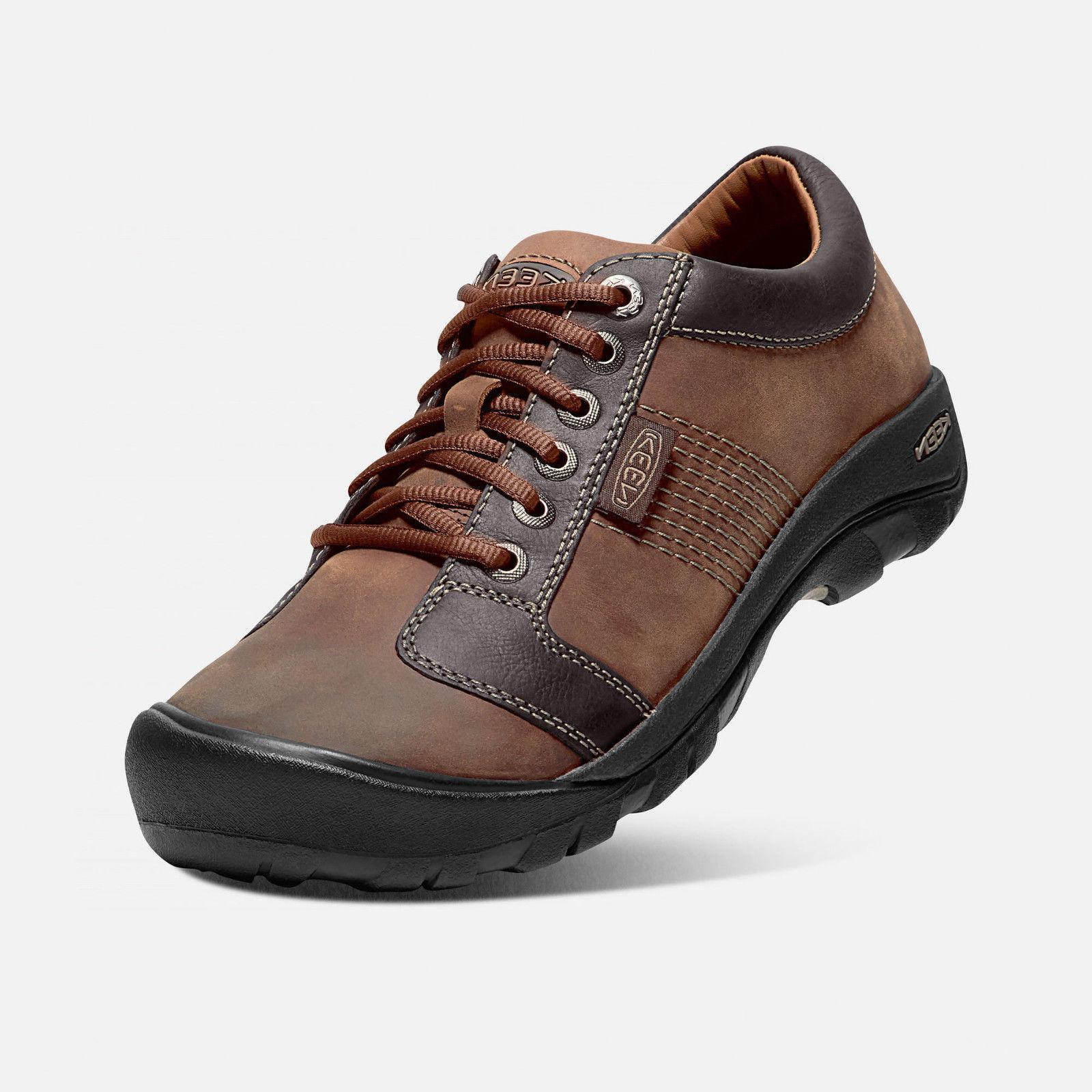 KEEN Chocolate Brown Men's Shoes BOX TAG