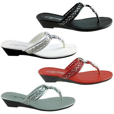 baby 103 womens sandals wedge shoes low