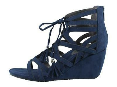 Kenneth Cole Reaction Cake Pop Mid Heel Wedge Womens Sandals