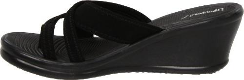 Skechers Cali Women's People Wedge Black, 10