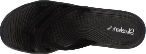 Skechers Cali People Wedge Sandal, 10 M