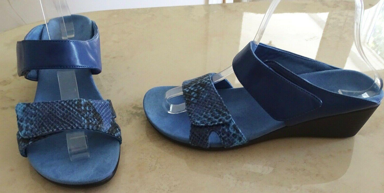 chrissy slide wedge sandals size 7 eur