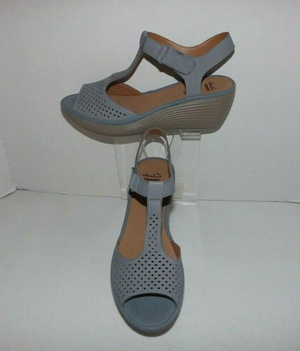 collection leather soft cushion comfort wedge sandals