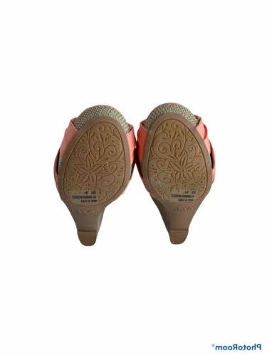 Cupid Wedge Sandal, Size 8.5, Color, Coral