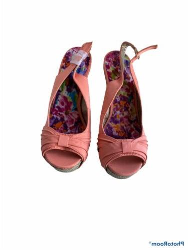 Wedge 8.5, Color, Coral