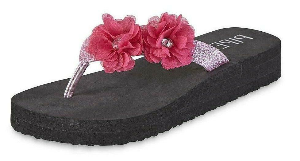 Piper Girls' Platform Wedge Sandals youth 11/12 to