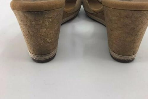 Clarks Strap Wedge Suede NEW