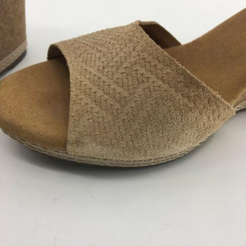 Clarks Strap Heels Womens Suede NEW