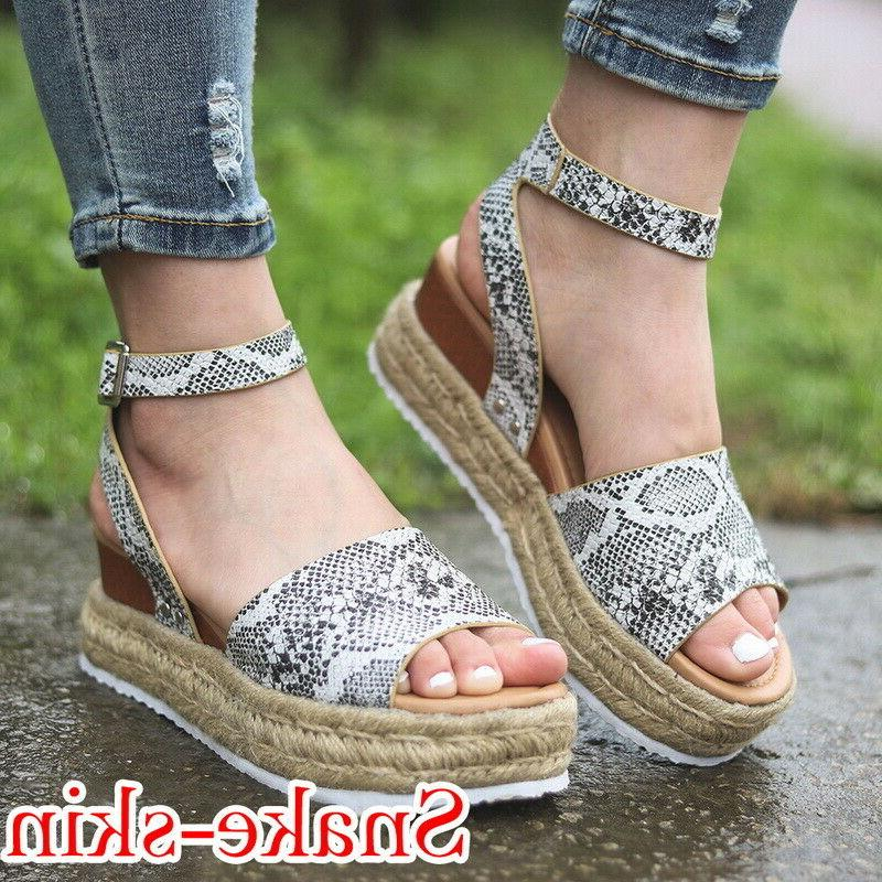 Hot Espadrille Ladies Ankle Shoes