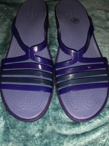 iconic comfort sandals 10 womens low wedge