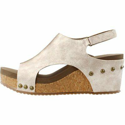Corkys Sandals Gold -