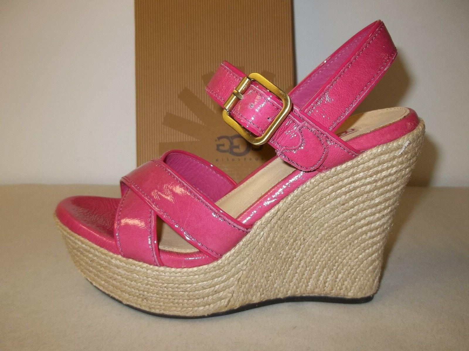 jackilyn leather wedge sandals