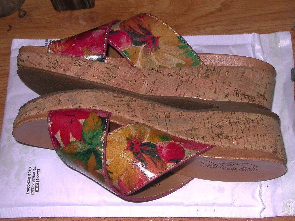 PATRICIA NASH LEATHER SPRING WEDGE 8.5M