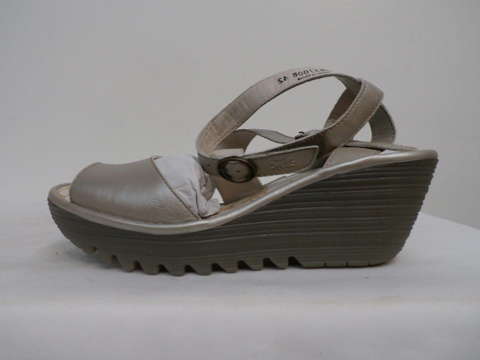 leather multi strap wedge sandals yisk silver