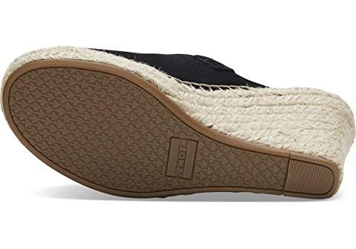 TOMS Monica Suede Women's 8