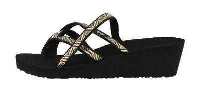 Teva Mush Mandalyn Wedge Ola 2 Thong Sandal Womens Sandals M