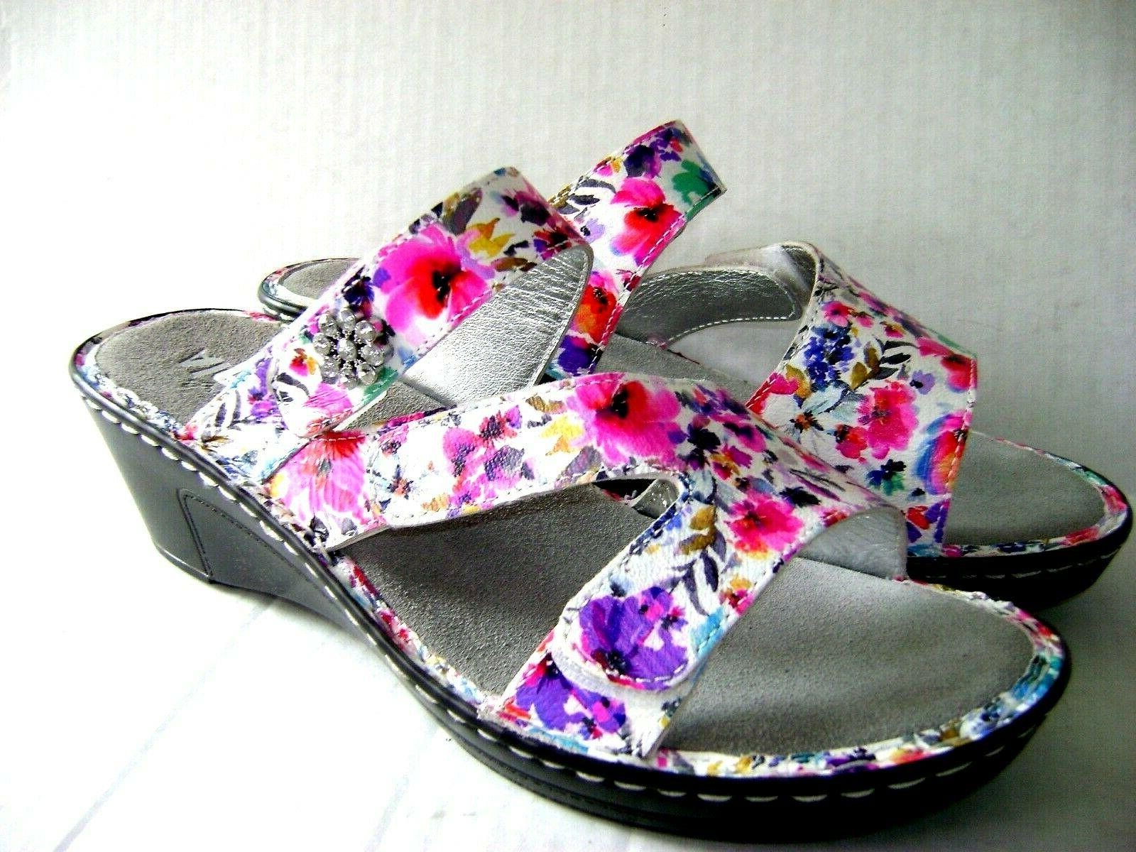 new 110 loti perennial leather flower wedge