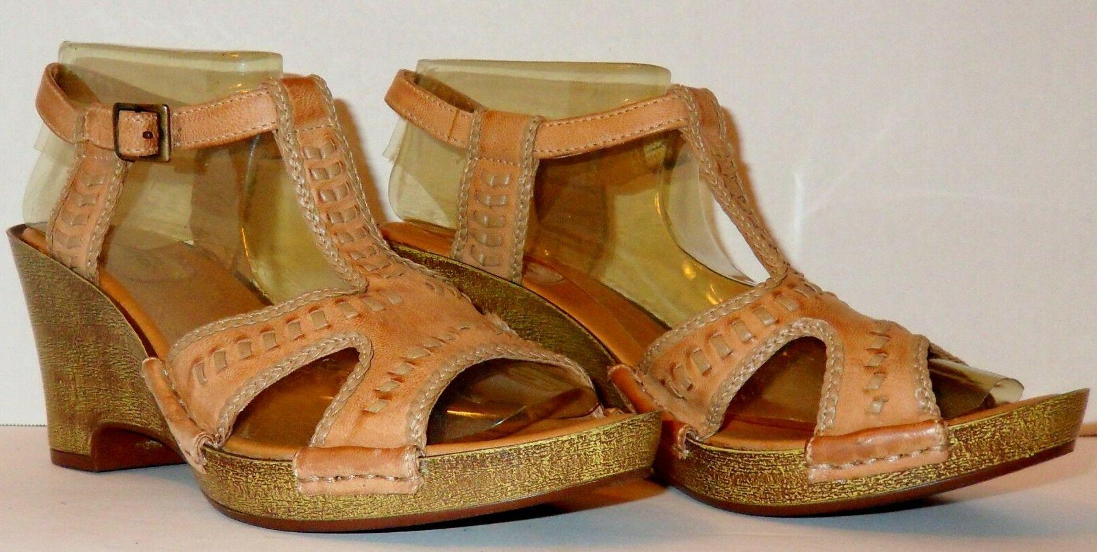 NEW WEDGE SANDALS SIZE 8.5 M!