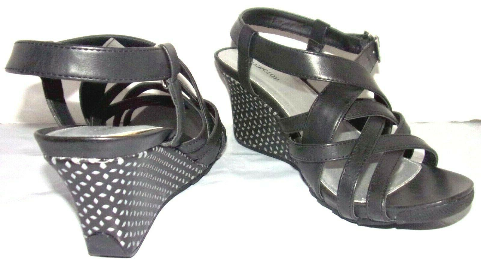 New CITYSCAPE WEDGE SANDALS W