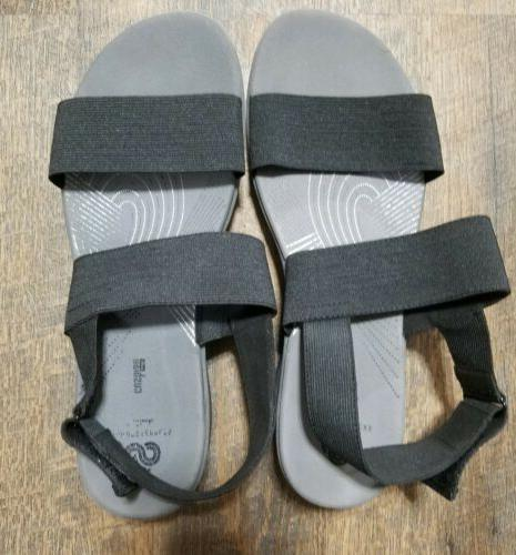 NEW! Cloudsteppers By Womens Ankle Strap Sandals Size 10