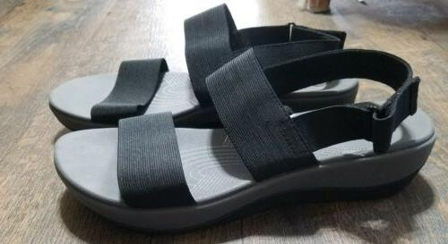 NEW! Cloudsteppers Womens Sandals Size 10