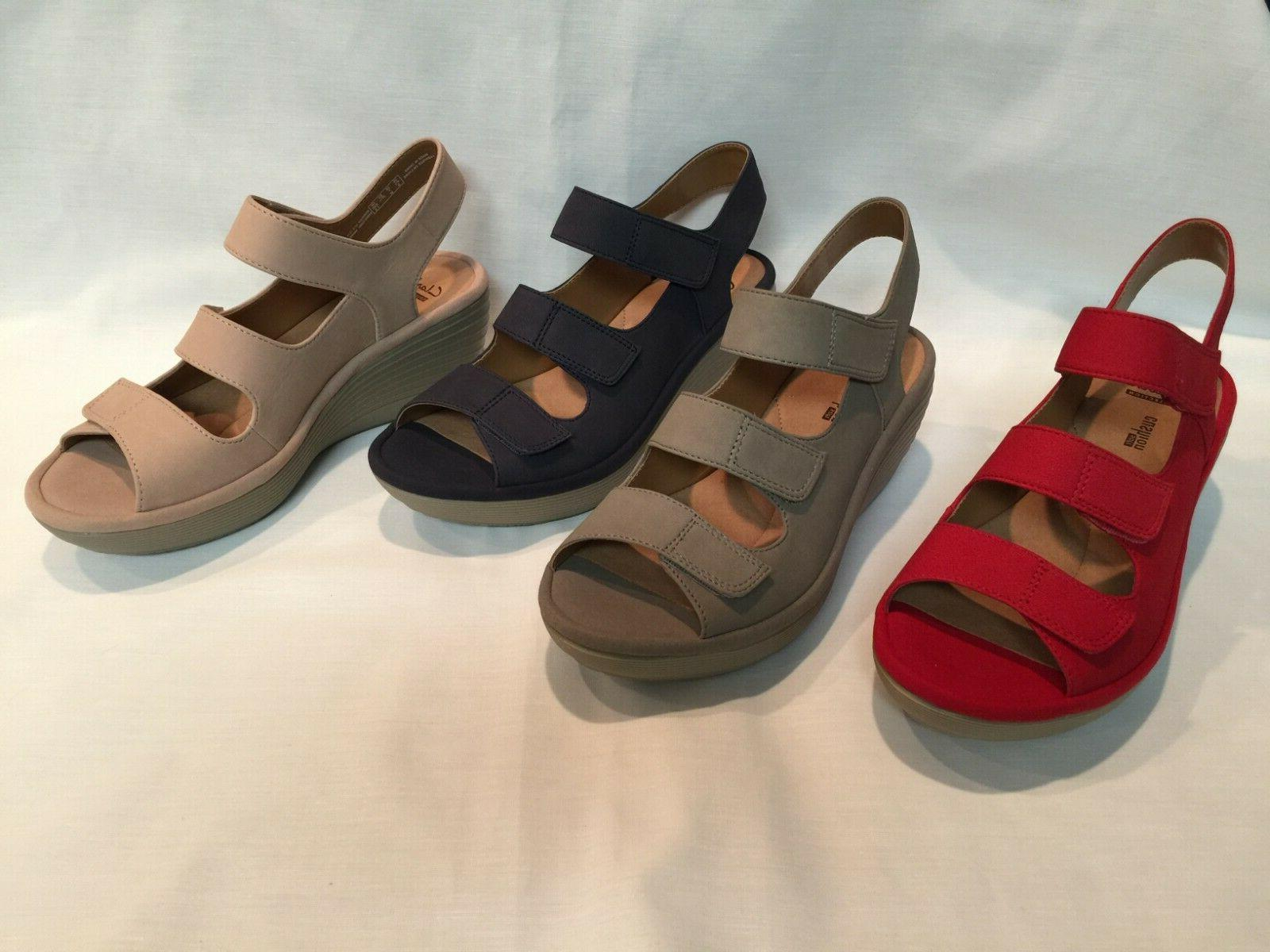 New! Clarks Wedge - Juno, Color