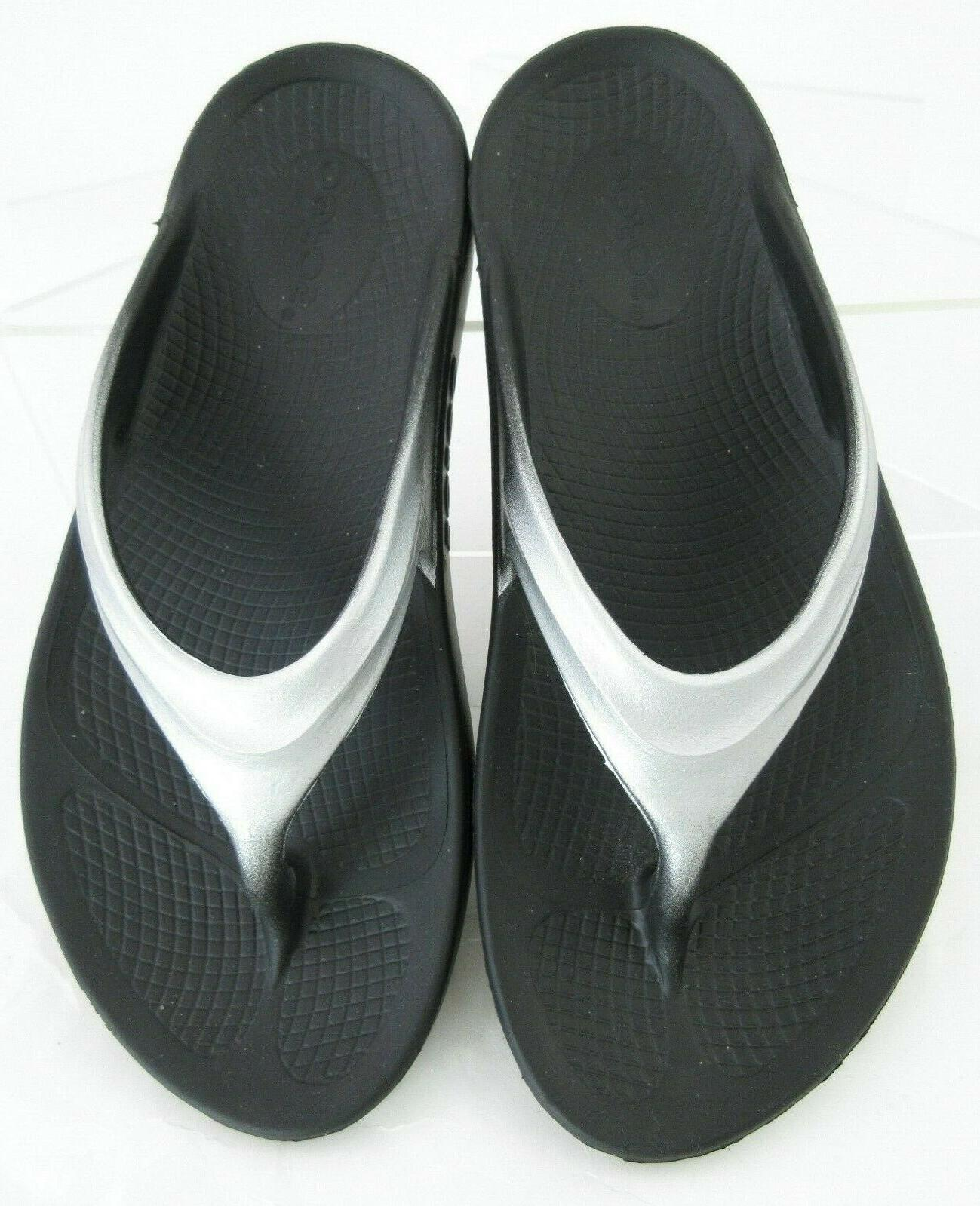 Thong Recovery Sandals Black Cloud